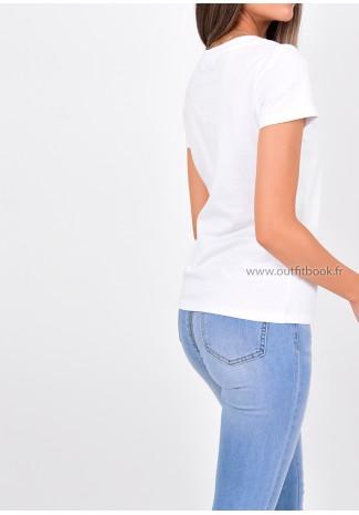 T-shirt blanc Goodday