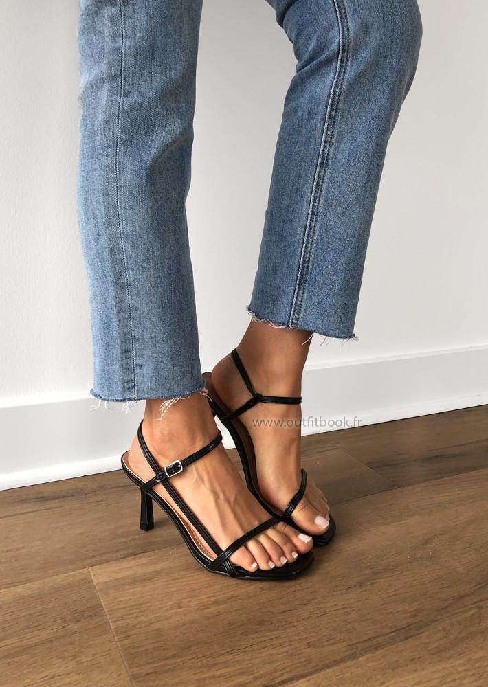 Sandales à fines lanières