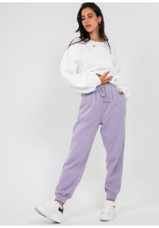 Jogging violet coupe décontractée