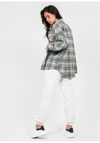 Chemise à carreaux - Vert