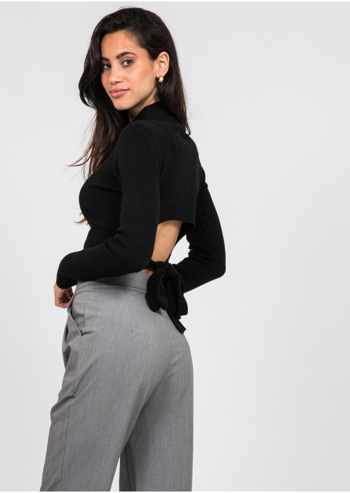 Tailored trousers in grey