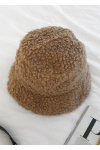 Borg bucket hat in camel