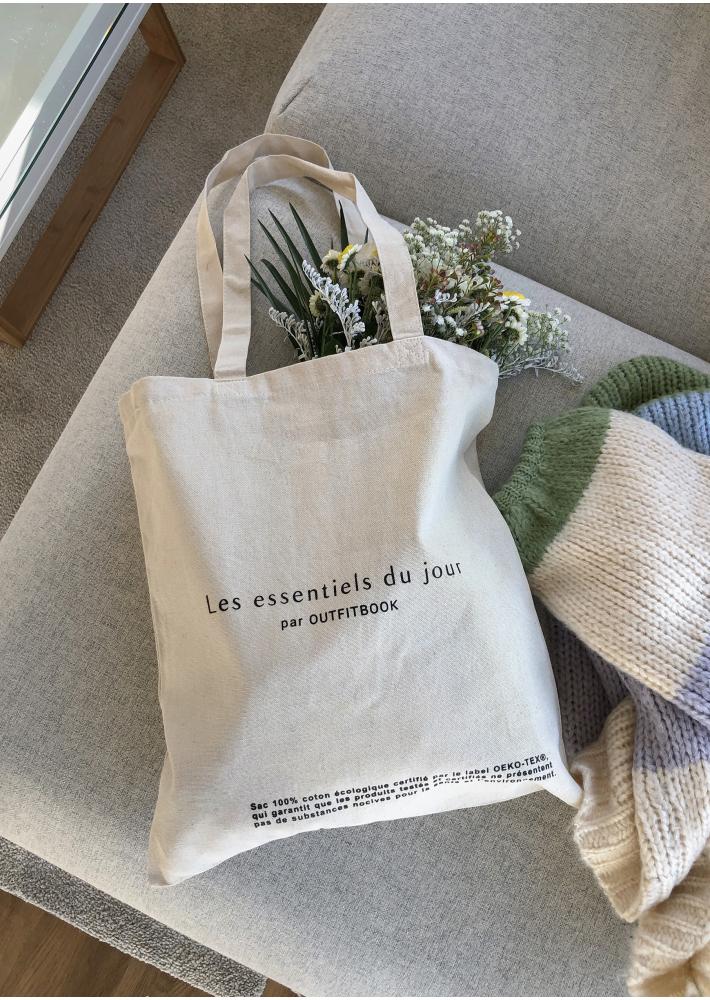 Les essentiels du jour Tote Bag
