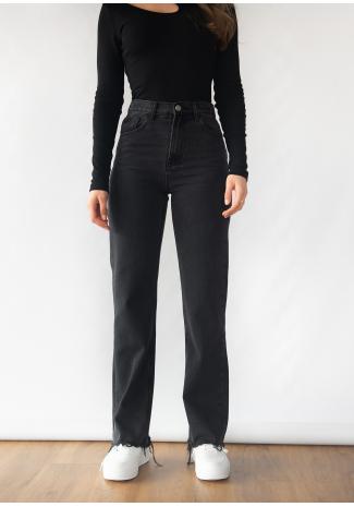 Jeans droit noir