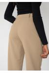 Pantalon droit ajusté - Taupe