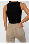 Top style corset noir