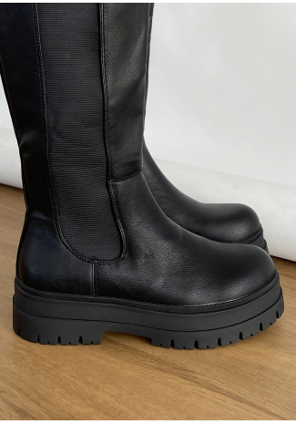 Knee High Chelsea Boots
