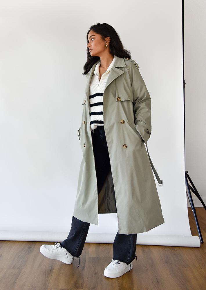 Trench-coat Olive