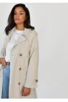 Trench-coat in beige