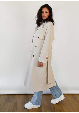 Trench-coat Beige