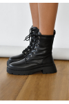 Chunky lace up ankle boot