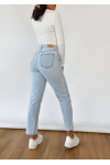 Blue Mom fit jeans