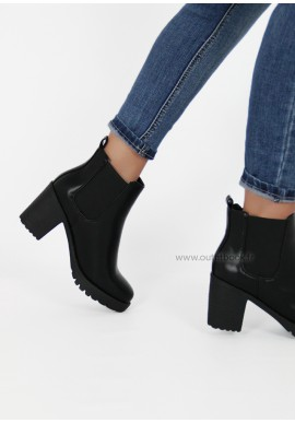 Chunky Black Chelsea boots